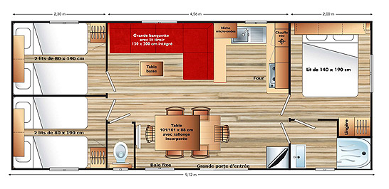 Plan Mobile Home