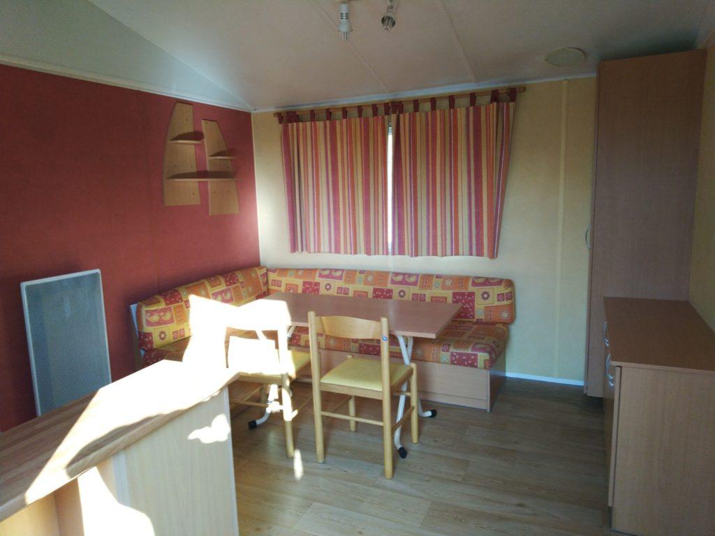 Intérieur Mobile Home 2 Chambres 4 Personnes